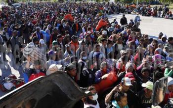 Saat Pengungsi Melarikan Diri Dari Amerika Tengah